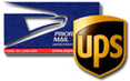 we use ups to ship ecoquest, alpine and living air parts and air purifiers